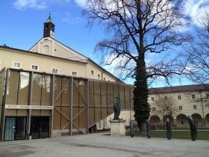 Tagungsort - die große Universitätsaula