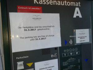 Schloss Hellbrunn Parkautomat 2017