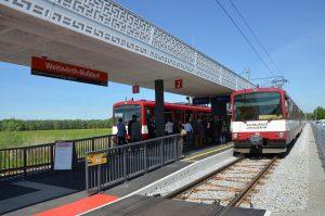 Der Bahnhof Weitwörth präsentiert sich in zeitgemäßem Gewand. Foto: Sallzburg AG
