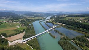 Drautal-Brücke in Kränen. Foto: ÖBB