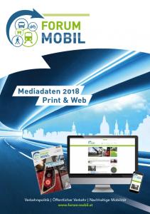 Forum Mobilität Mediaplan 2018