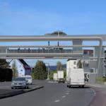 So könnte eine Seilbahnstation über der Sägerbrücke in Dornbirn aussehen.