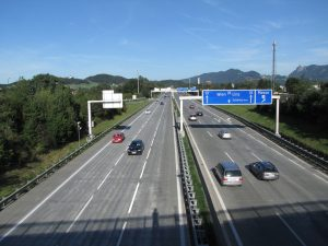A1 Westautobahn Salzburg Mitte