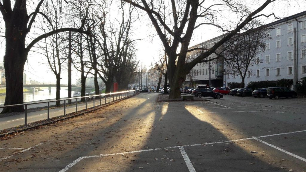 Der Rot-Kreuz-Parkplatz