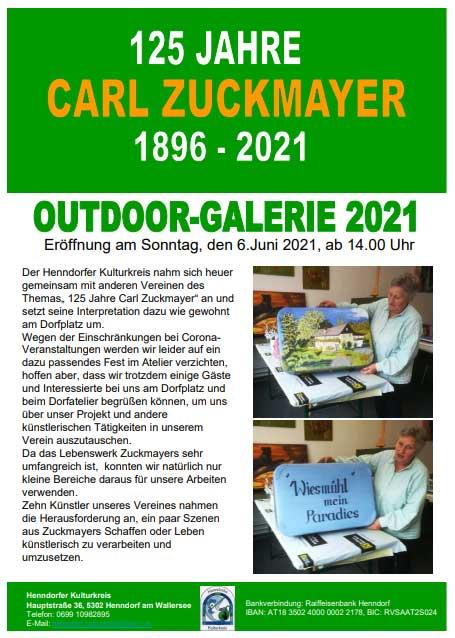 Carl Zuckmayer Kulturflyer